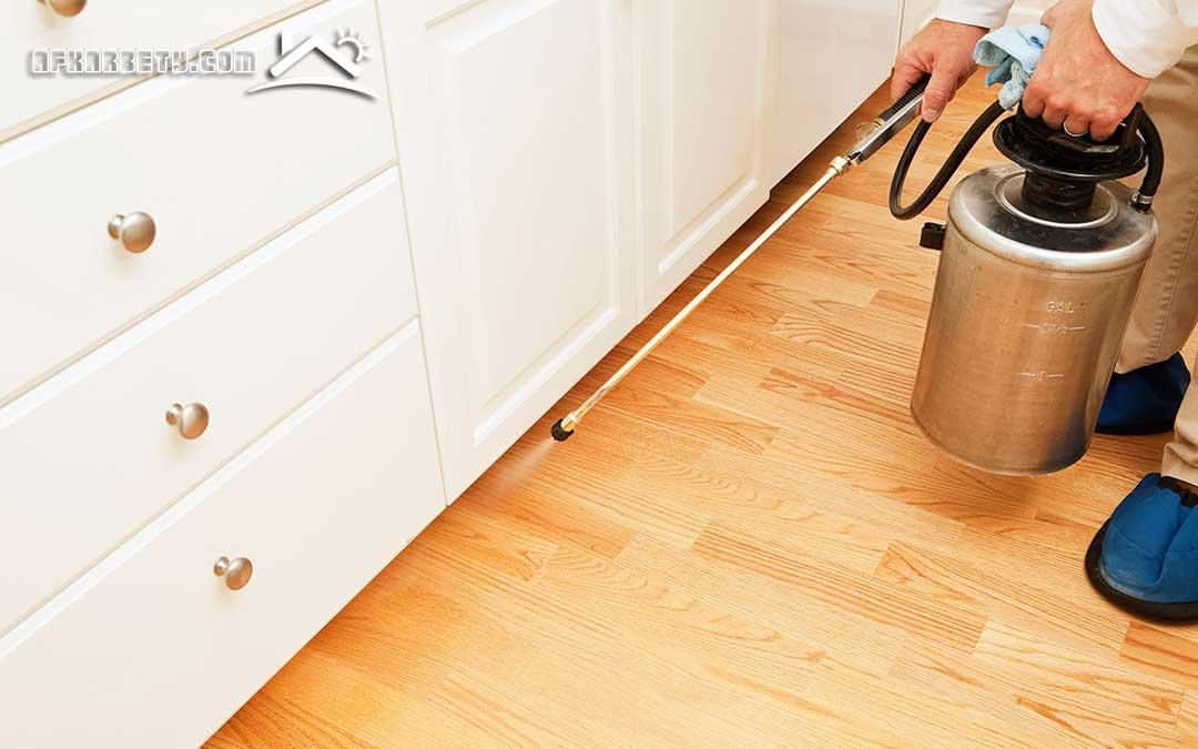 طريقة تنظيف البيت من الحشرات