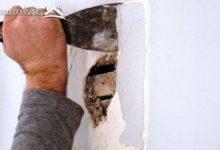 صورة علاج تشققات الجدران والحوائط