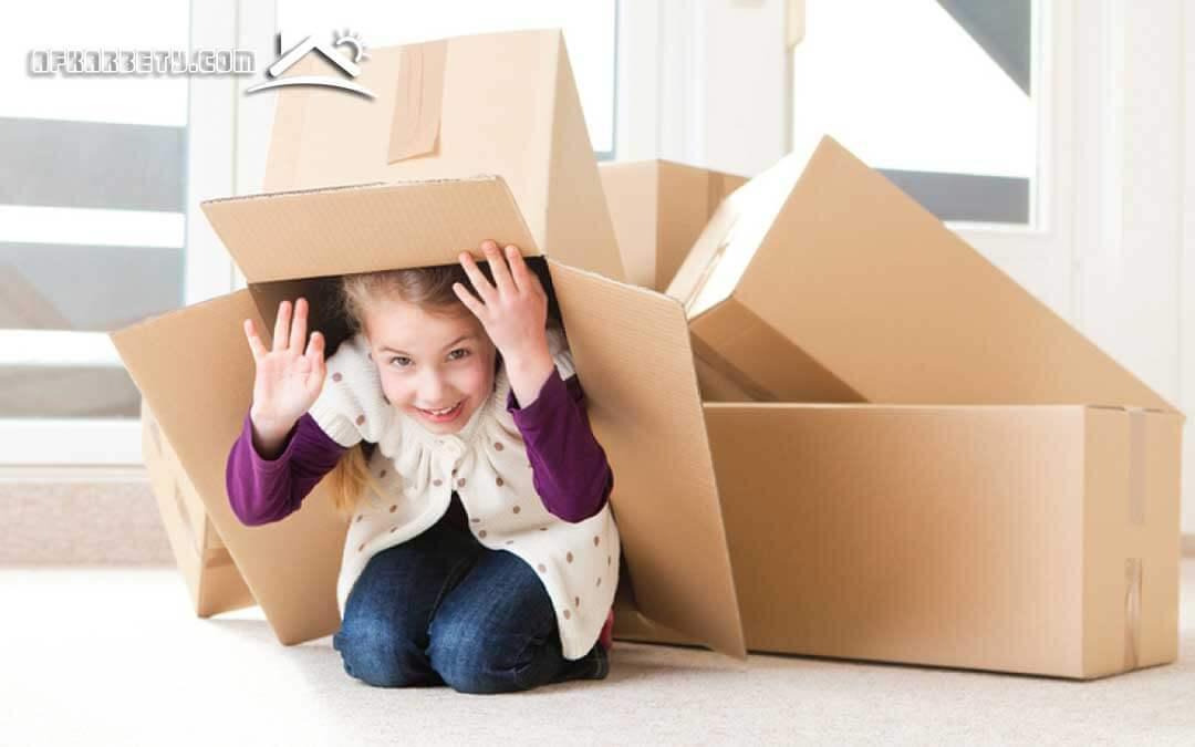 طريقة نقل العفش من بيت لبيت
